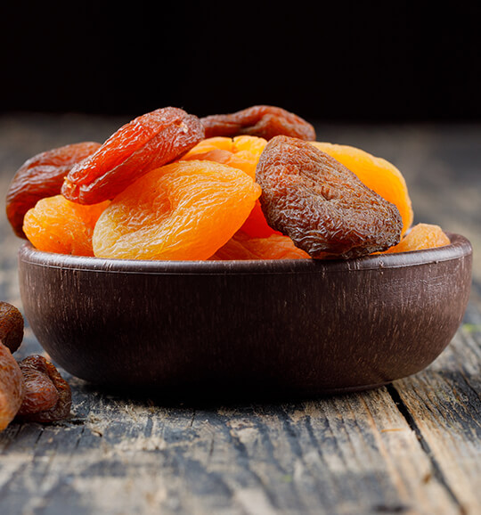 Dried Apricots for Export
